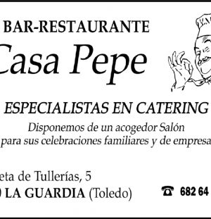 BAR RESTAURANTE CASA PEPE
